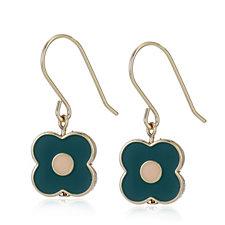 Orla Kiely Abacus Flower Drop Earrings