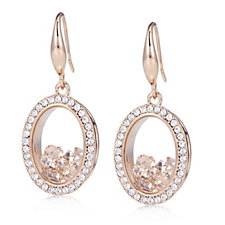 Frank Usher Floating Crystal Earrings