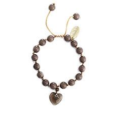 304811 - Lola Rose Mille Semi Precious Bead & Heart Bracelet