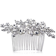 loveRocks Bridal Crystal Hair Comb
