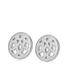Links of London Timeless Stud Earrings Sterling Silver