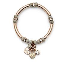 Bibi Bijoux Bead & Bar Charm Bracelet