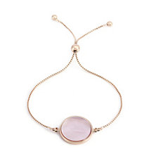 Bronzo Italia Celebration Collection, Pink Mother of Pearl Bracelet