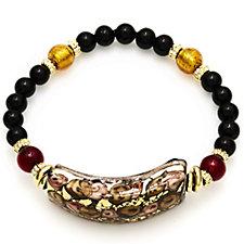 Murano Glass Millerose Stretch Bracelet