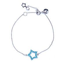 Lola Rose Semi Precious Sterling Silver Star Bracelet