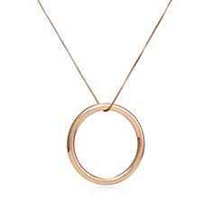 Pilgrim Neverending Hoop 90cm Necklace