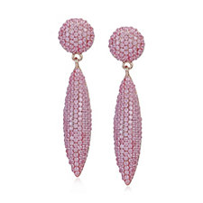 330514 - Butler & Wilson Pave Drop Earrings