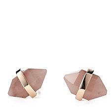 Lola Rose Obelisk Semi Precious Stud Earrings
