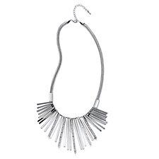 Frank Usher Shard Spray Crystal 48cm Necklace