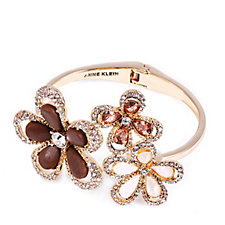 Anne Klein Natural Blossoms Expandable Bangle