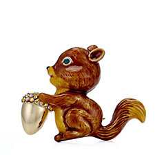 330515 - Butler & Wilson Enamel Squirrel Brooch