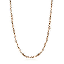 Sence Copenhagen Crown Ball Bead 90cm Necklace