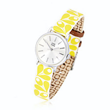 Orla Kiely Ladies Watch Patricia Leather Strap