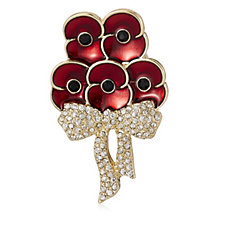 Buckley Poppy Elizabeth Bouquet Brooch