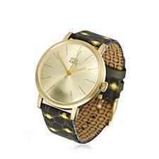 Orla Kiely Patricia Leather Strap Watch