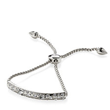 Nour Multi Crystal Embedded Bar Friendship Bracelet