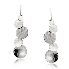 Taxco Traditions Bubble Drop Earrings Sterling Silver