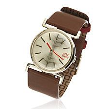 Orla Kiely Cecilia Leather Strap Watch