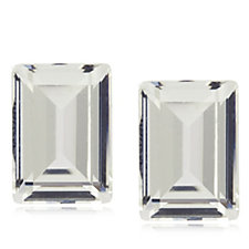 Frank Usher Square Crystal Clip On Earrings