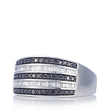 306420 - 0.5ct Diamond Band Ring Sterling Silver