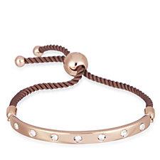 Aurora Swarovski Crystal Swiss Set Bar Friendship Bracelet