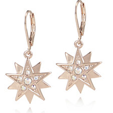 Aurora Swarovski Crystal Star Earrings