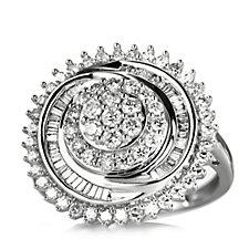 1ct Diamond Spectacular Ring 9ct Gold