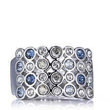 Aurora Swarovski Crystal Multi Colour Ring