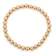 Bronzo Italia Bead Stretch Bracelet