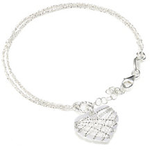308323 - Links of London Dream Catcher Heart Bracelet Sterling Silver