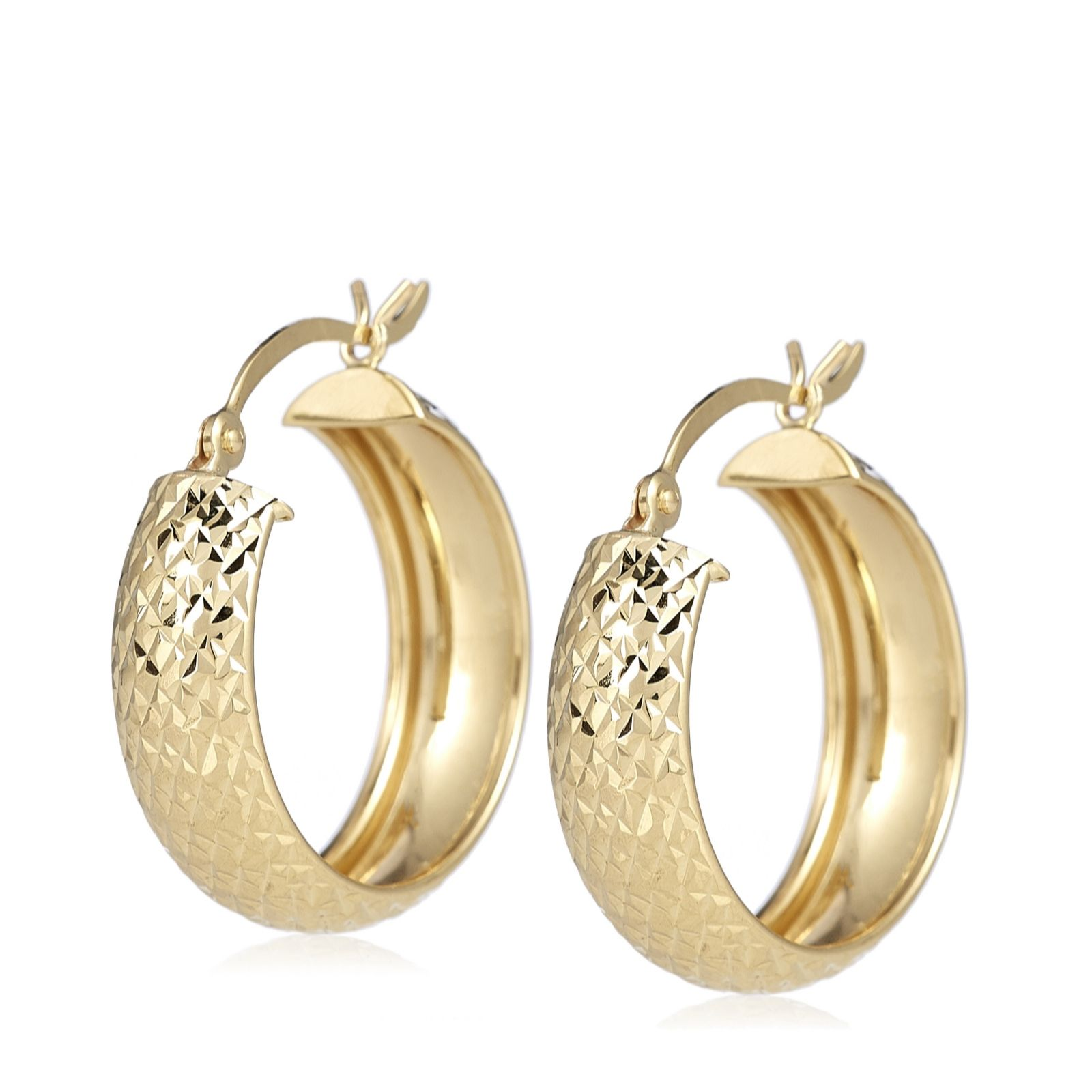 browse jewellery qvc cut gold c pineapple n earrings hoop uk