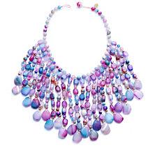 Lola Rose Zardosi Semi Precious Fringe 48cm Necklace