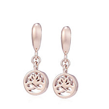 Newbridge Silverware Ti:Amo Collection Drop Earrings