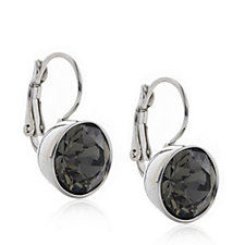 Aurora Swarovski Crystal Leverback Drop Earrings