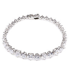 Michelle Mone for Diamonique 12.8ct tw 19cm Bracelet Sterling Silver