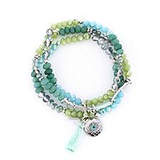 Lonna & Lilly Layered Bead Charm Bracelet