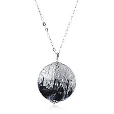 Murano Glass Gondola 70cm Pendant & Chain Sterling Silver