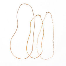 303627 - Bronzo Italia Set of 3 Chains