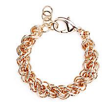 Bronzo Italia Multi Link 19cm Bracelet