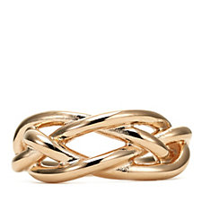 Bronzo Italia Braided Ring