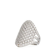 K by Kelly Hoppen Miami Collection Oval Statement Ring Bronze