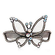 330528 - Butler & Wilson Crystal Butterfly Hairclip