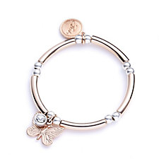 Bibi Bijoux Animal Charm Bead & Bar Bracelet