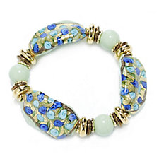 Murano Glass Millerose Stretch Bracelet