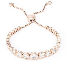 322129 - Michelle Mone for Diamonique 8ct tw Friendship Bracelet Sterling Silver