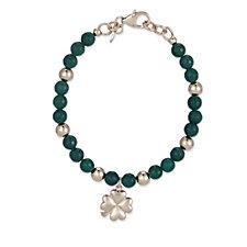 Bronzo Italia Gemstone Charm 19cm Bracelet