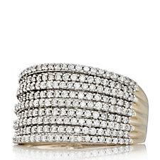 306930 - 1ct Diamond Decadent Band Ring 9ct Gold