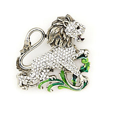 Butler & Wilson Crystal Lion Brooch