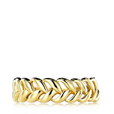 9ct Gold Braided Band Ring