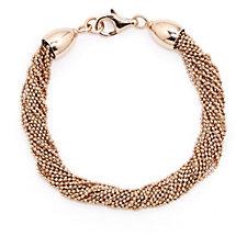 Bronzo Italia Multistrand 19cm Bracelet